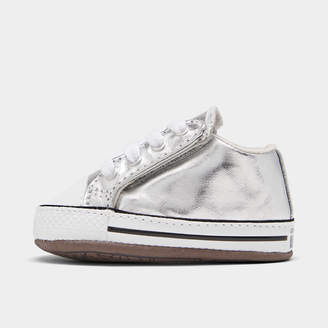 Converse Girls' Toddler Pearlized Party Chuck Taylor All Star Cribster Crib Shoes