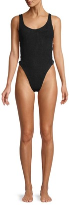 Hunza G Greta One-Piece Swimsuit