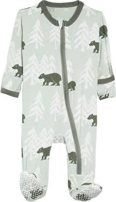 Kickee Pants Bear Print Footie