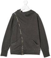 Nununu asymmetric zip hoodie