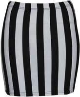 Thever Womens Ladies Skull Rose Kapow Leopard Tartan Dog Tooth Mini Skirt (M/L-UK (12-14), )