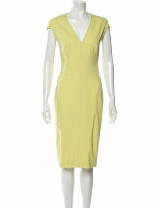 Narciso Rodriguez 2019 Midi Length Dress Wool