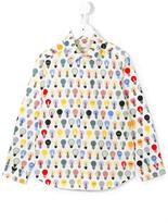 Fendi lightbulb print shirt - kids - Cotton - 10 yrs