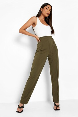 boohoo Piping Detail Satin Luxe Jogger