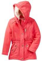 Urban Republic Fleece Anorak Faux Fur Hooded Jacket (Little Girls)