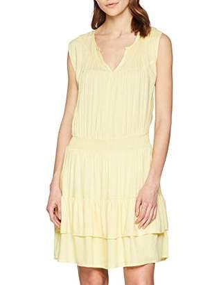 SPARKZ COPENHAGEN Women's Tara Short Dress Blouson Plain Sleeveless Dress,6 (Manufacturer Size:XS)