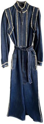 Christian Dior Blue Denim - Jeans Jumpsuits