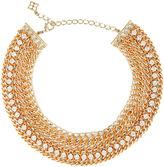 BCBGMAXAZRIA Chain Crocheted Necklace
