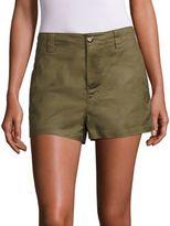Moncler Solid Cotton Shorts
