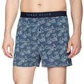 Perry Ellis Men's Peacock Paisley Luxe Boxer Short