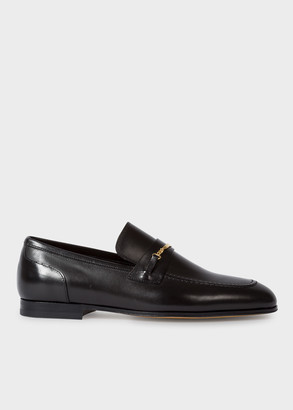 Paul Smith Women's Black Leather 'Chilton' Loafers