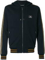 Dolce & Gabbana metallic detail hoodie - men - Cotton - 46