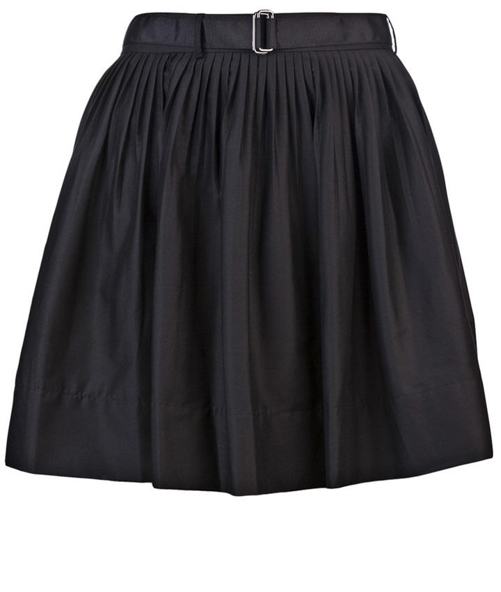 Robert Rodriguez Belted mini skirt