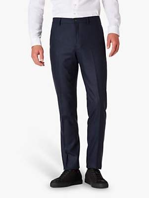 Paul Smith Wool Flannel Tailored Fit Suit Trousers