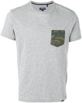 Woolrich T-shirt with camouflage pocket - men - Cotton - M