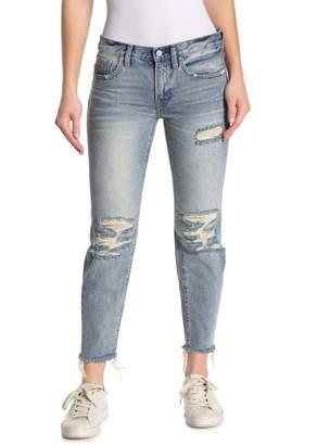 AllSaints Muse Slim Distressed Jeans