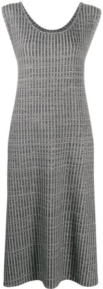 MM6 MAISON MARGIELA textured layered dress