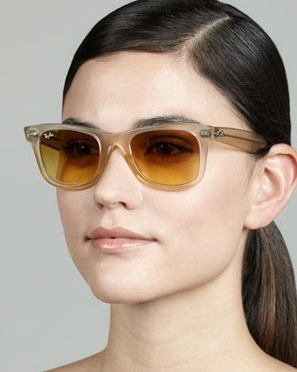 Ray-Ban Ice Pop Sunglasses, Yellow