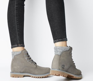 Timberland Waterville 6 Boots Med Grey