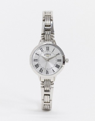 Limit bracelet watch in silver