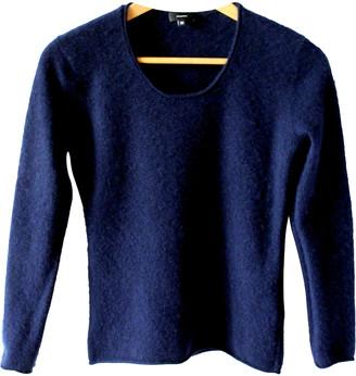 Non Signã© / Unsigned Blue Cashmere Knitwear