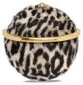 Stella McCartney alter fur leopard shoulder bag