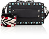 Valentino Women's Rockstud Rolling Small Camera Bag-BLACK