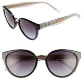 Burberry Women's 53Mm Gradient Cat Eye Sunglasses - Black/ Gradient