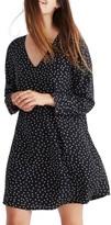 Madewell Women's Star Silk Button Back Dress