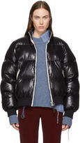 Acne Studios Black Down Cilla Puffer Jacket