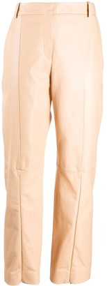 MM6 MAISON MARGIELA Front Zip Detail Trousers