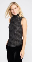 J.Mclaughlin Nora Sleeveless Turtleneck in Chevron