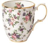 Royal Albert 100 Years English Chintz Blue Mug