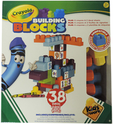 Hasbro Crayola Building Blocks Set