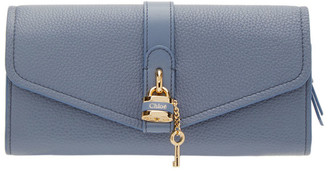 Chloé Blue Long Aby Wallet