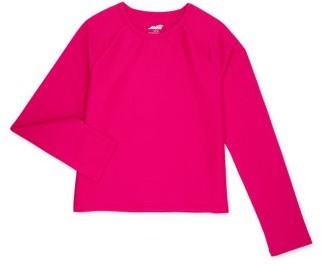 Avia Girls 4-18 Long Sleeve Moisture Wicking T-Shirt