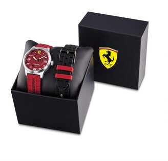 Scuderia Ferrari Boy's Analogue Quartz Watch with Silicone Strap 0860016