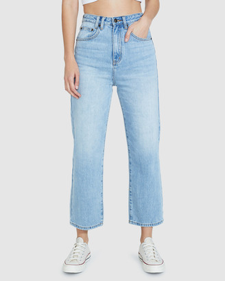 Insight Phoebe Easy Straight Crop Jeans