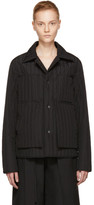 Craig Green Black Core Quilted Workwear Jacket