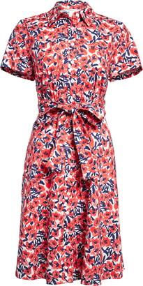 1901 Floral Shirtdress