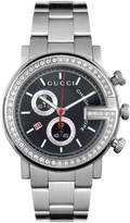 Gucci Men's YA101324 G Chrono Dial Watch