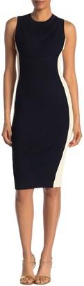 Rachel Roy Penelope Colorblock Rib Knit Dress