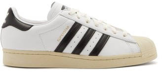 adidas Superstar Vintage Leather Trainers - White