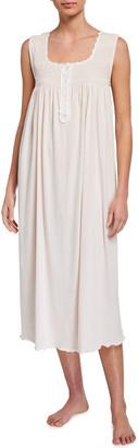 P Jamas Lucero Heirloom Sleeveless Nightgown
