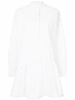 Calvin Klein Peplum Shirt Dress