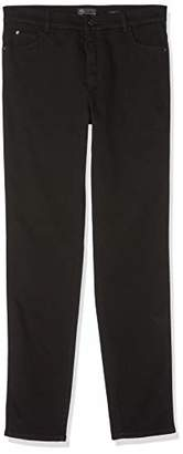 Rosner Ladies Slim Pants Audrey1, Gr. (manufacturer size: 38), black (black / black 990)