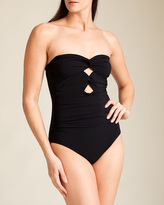 Karla Colletto Twist Bandeau Swimsuit