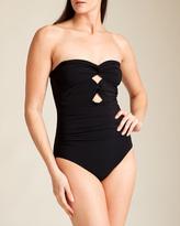 Karla Colletto Twist Bandeau Swimsuit