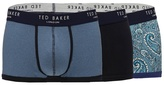 Ted Baker Pack Of Three Assorted Printed Trunks