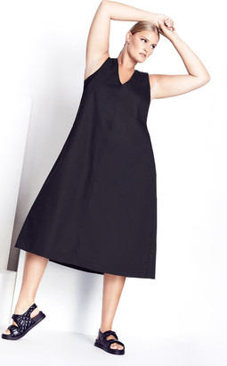 City Chic Eclectic Dress - black